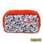 史努比 Snoopy 棉質 長型 收納包 零錢包 PEANUTS