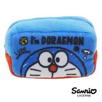 哆啦a夢 DORAEMON 棉質 長型 收納包 零錢包 小叮噹 三麗鷗 Sanrio
