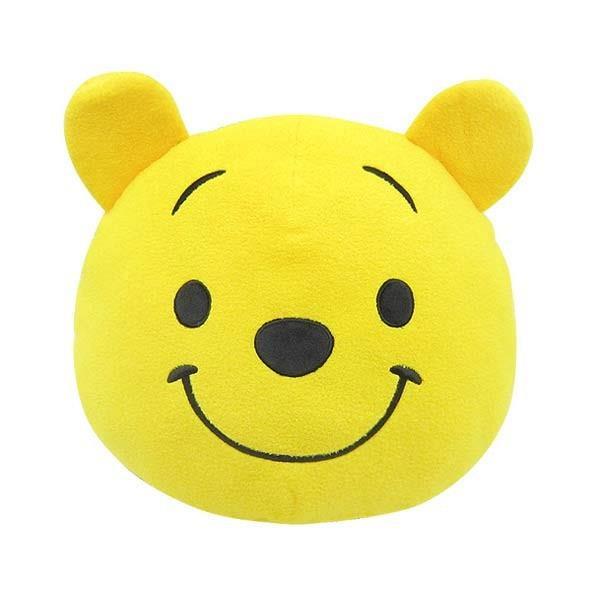 小熊維尼 Winnie the Pooh 大頭造型 玩偶 抱枕 靠墊 Disney 迪士尼