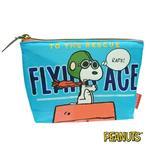 史努比 Snoopy 船型 化妝包 收納包 筆袋 鉛筆盒 PEANUTS