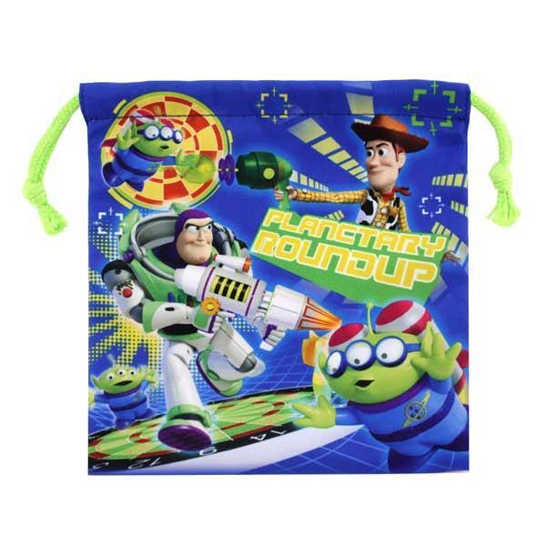 玩具總動員 束口袋 收納袋 抽繩束口袋 皮克斯 迪士尼 Disney