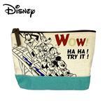 米奇 米妮 唐老鴨 迪士尼系列 船型 化妝包 收納包 筆袋 鉛筆盒 Disney