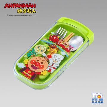 AL麵包超人三件餐具組(綠)