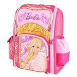 芭比Barbie 魔力甜心全開式減負書包(玫紅色)