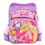 芭比Barbie 夢境立體護脊書包(粉紫色)