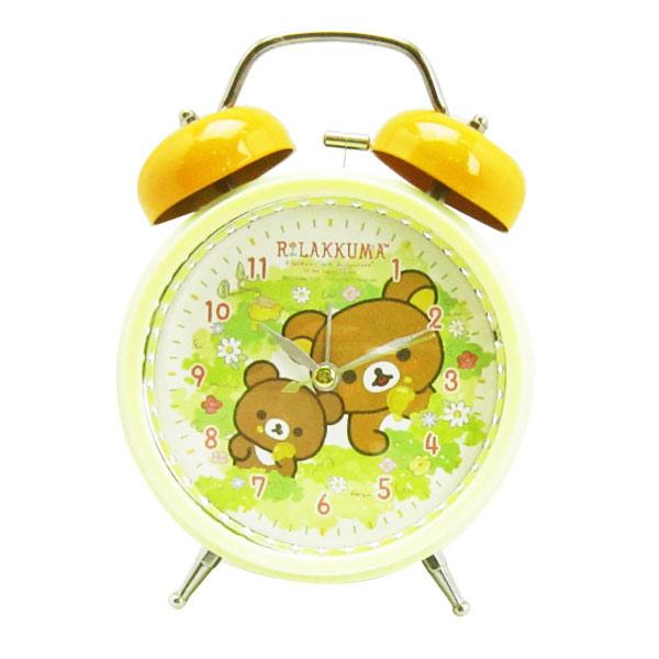 San-X 拉拉熊 復古 鬧鐘 造型鐘 指針時鐘 燈光設計 懶懶熊 Rilakkuma