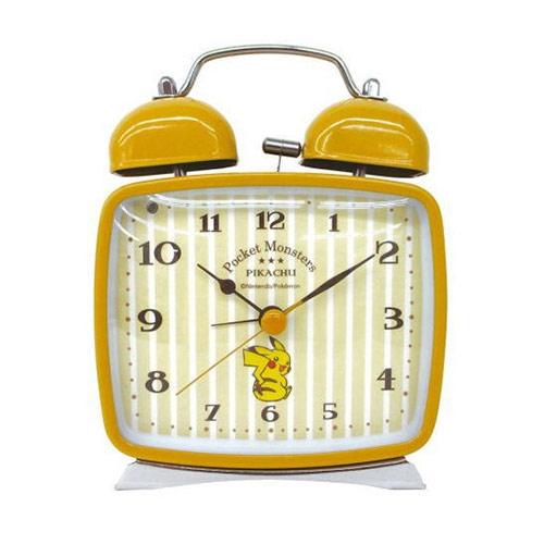 皮卡丘 PIKACHU 復古 造型鐘 數字鬧鐘 燈光設計 指針時鐘 神奇寶貝