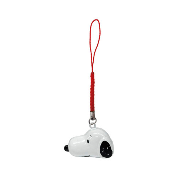 史努比 Snoopy 大頭造型 鈴鐺吊飾 吊飾 PEANUTS