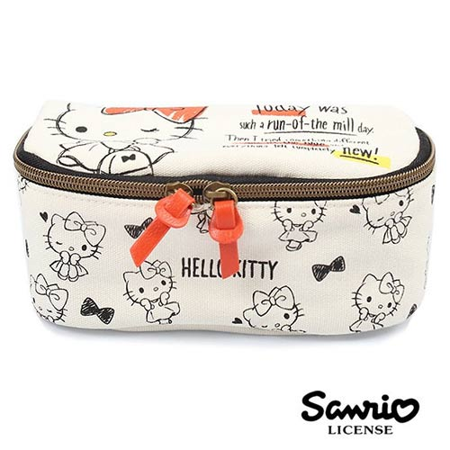 凱蒂貓 Hello Kitty 三麗鷗人物 可展開 化妝包 收納包 Sanrio