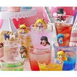 盒裝8款 美少女戰士 Sailor Moon 25周年紀念 杯緣子 盒玩 公仔 MegaHouse