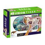 《4D PUZZLE 》透視模型 - 老虎