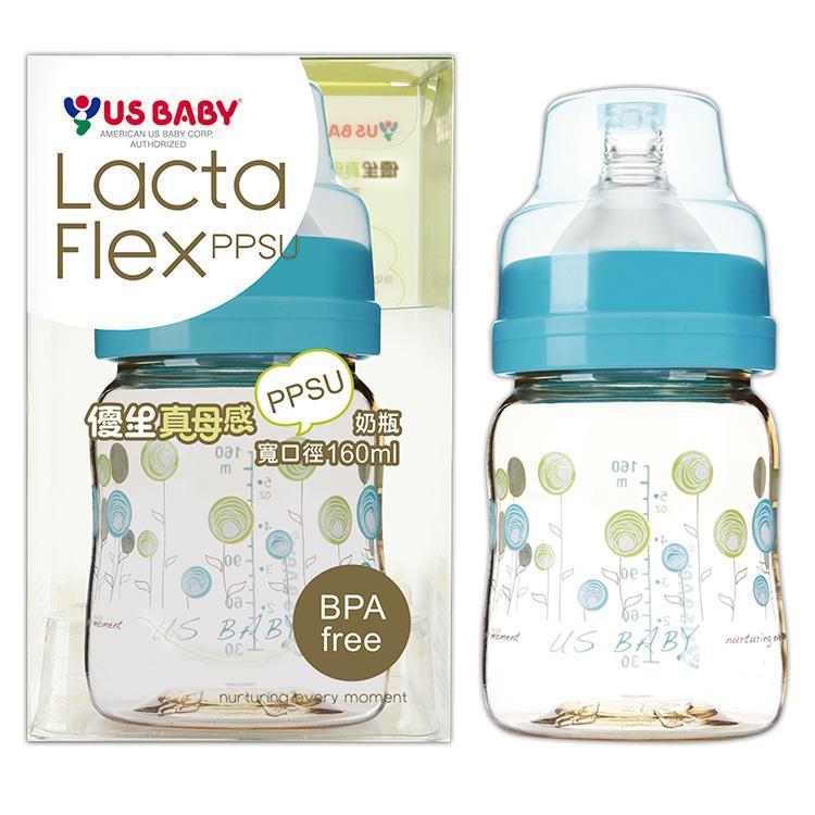 優生真母感PPSU奶瓶(寬口160ml-藍)