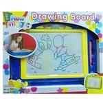 【17mall】兒童彩色磁性超大畫板-送印章 寫字板/塗鴉板/教具/兒童畫板-藍