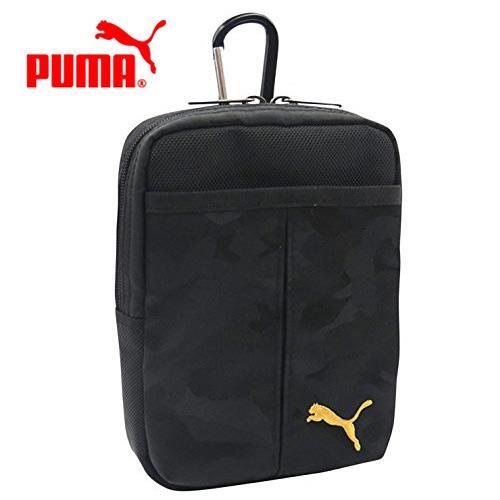 PUMA 迷彩 收納腰包 收納包 多層收納 旅行收納