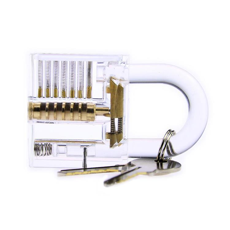 賽先生科學工廠-鎖匠的挑戰-DIY益智透明掛鎖