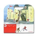 【 Babytiger虎兒寶 】比利時 EGMONT TOYS 艾格蒙繪本風磁鐵書- 守護快樂城堡