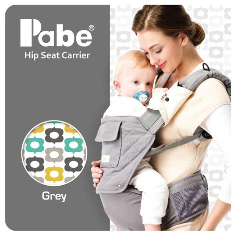 【虎兒寶】Pabe 韓國嬰兒坐墊式減壓護頸背巾 - 共六色 附頭套