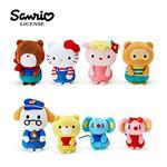 凱蒂貓 Hello Kitty Action 以愛之名 朋友主題 造型絨毛娃娃 8入 玩偶 擺飾
