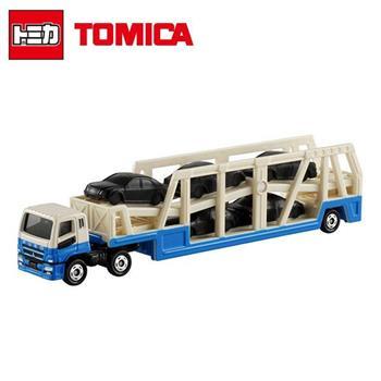 TOMICA NO.131 三菱 MITSUBISHI 加長型 運輸車 玩具車 長盒 多美小汽車