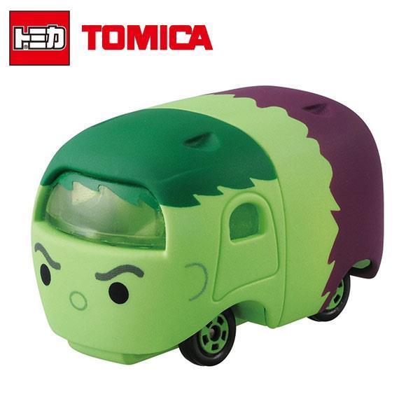 TOMICA 多美小汽車 TSUM TSUM 漫威英雄 綠巨人 浩克 Hulk 玩具車 MARVEL