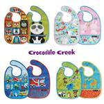 【美國Crocodile Creek】寶寶圍兜2入組-多款任選