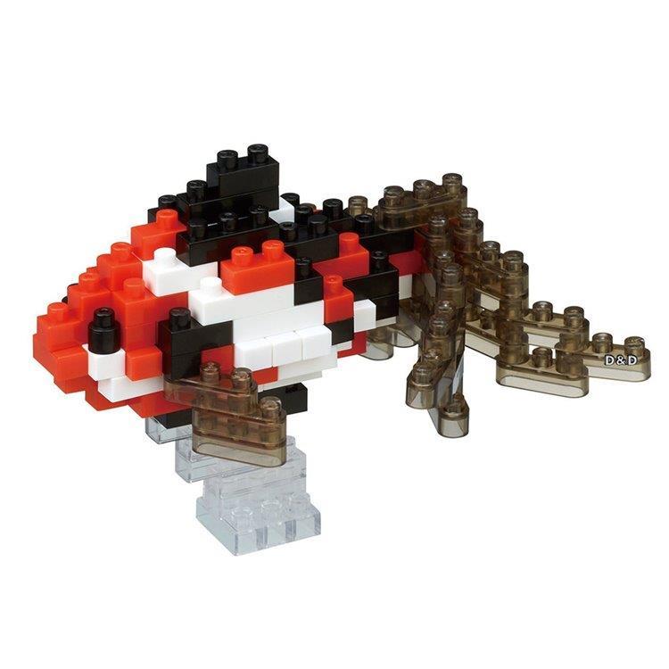 《Nano Block 迷你積木》NBC - 224 金魚 (黑)