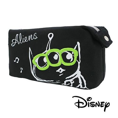 玩具總動員 三眼怪 刺繡 帆布 筆袋 鉛筆盒 迪士尼 皮克斯 Disney
