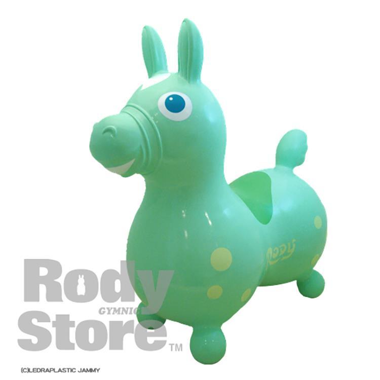 《 義大利 RODY 》跳跳馬(粉綠)