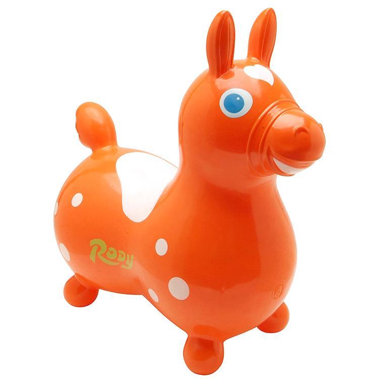 《 義大利 RODY 》跳跳馬(橘色)