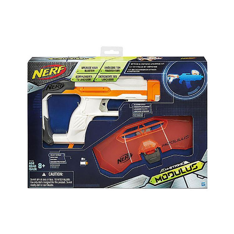 《 NERF 樂活打擊 》NERF自由模組系列 - 攻擊防衛套件