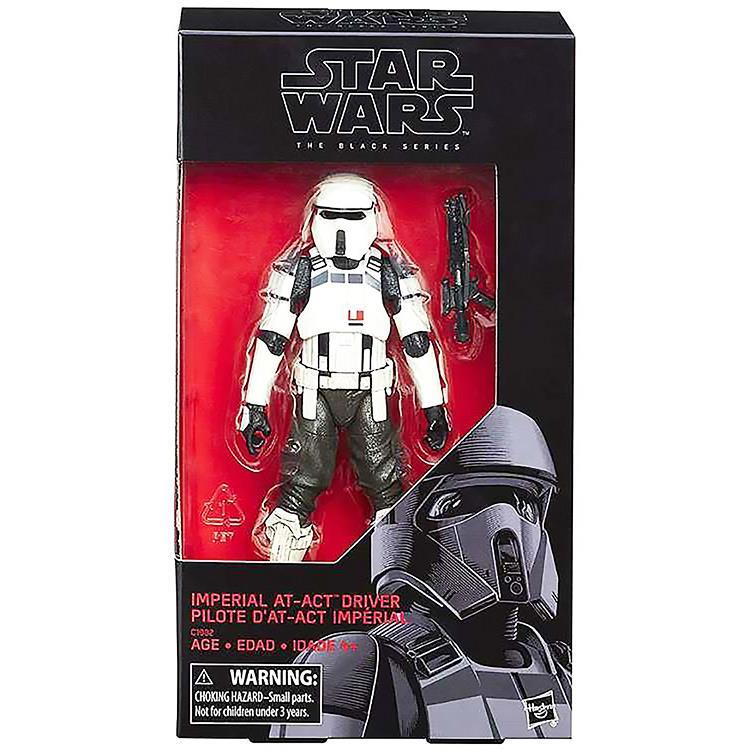 《 星際大戰 》星際大戰黑標 6 吋人物組 - 帝國駕駛兵