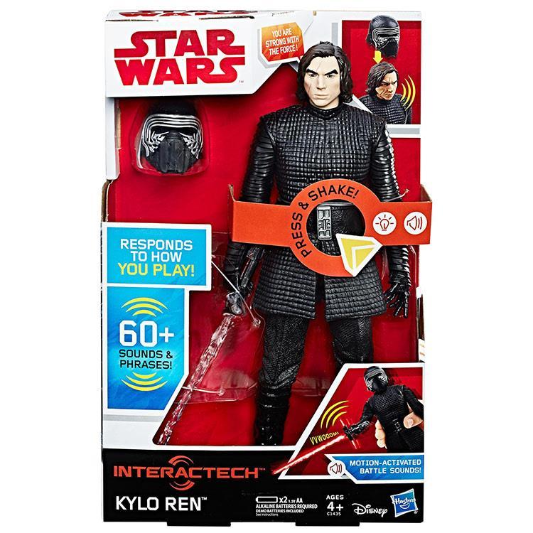 《 星際大戰 》星際大戰電影 8 - 12 吋互動式電子英雄人物 KYLO REN