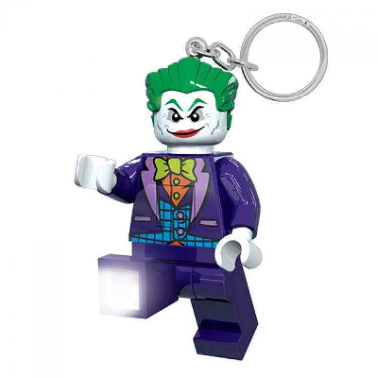 【 樂高積木 LEGO 】超級英雄-小丑鑰匙圈 (電影版)