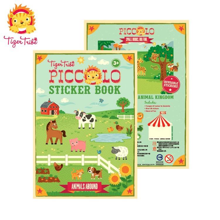 【虎兒寶】TIGER TRIBE  遊戲貼紙口袋書 - 農場動物