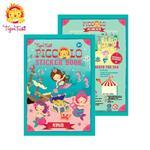 【 Babytiger虎兒寶 】遊戲書系列 Tiger Tribe 遊戲貼紙口袋書 - 可愛美人魚