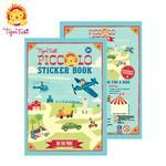 【 Babytiger虎兒寶 】遊戲書系列 TIGER TRIBE 遊戲貼紙口袋書 - 交通工具