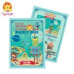 【 Babytiger虎兒寶 】遊戲書系列 TIGER TRIBE遊戲磁鐵口袋書 - 機器人星球