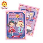 【 Babytiger虎兒寶 】遊戲書系列 TIGER TRIBE 遊戲磁鐵口袋書 - 換裝寶貝