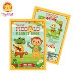 【 Babytiger虎兒寶 】遊戲書系列 TIGER TRIBE 遊戲磁鐵口袋書 - 動物叢林