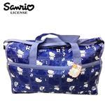 凱蒂貓 Hello Kitty 大型 旅行袋 行李袋 肩背袋 超大容量 防潑水 三麗鷗