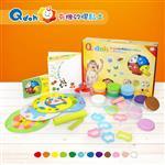 Q-doh 有機矽膠黏土-12色組