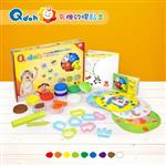 Q-doh 有機矽膠黏土-9色組
