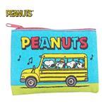 史努比 Snoopy 帆布 零錢包 卡片包 小物收納 PEANUTS