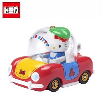 TOMICA 騎乘系列 R02 凱蒂貓 x Apple Car Hello Kitty 多美小汽車