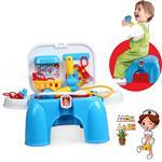 【17mall】仿真醫具椅/收納椅/遊戲椅/醫生玩具/醫生遊戲組