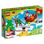 樂高積木 LEGO《 LT10837 》Duplo 得寶系列 - 聖誕老人的冬季假期