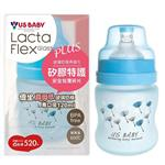 優生真母感特護玻璃奶瓶(寬口120ml-藍)