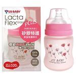 優生真母感特護玻璃奶瓶(寬口120ml-粉)