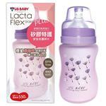 優生真母感特護玻璃奶瓶(寬口240ml-紫)