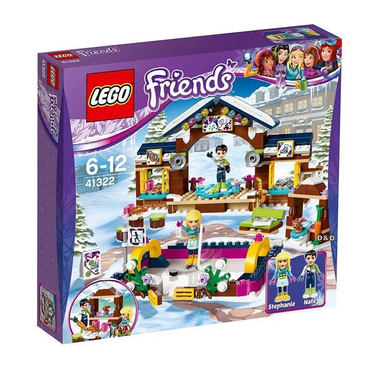 樂高積木 LEGO《 LT41322 》Friends 姊妹淘系列 - 滑雪渡假村溜冰場